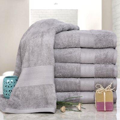 Cressex Absorb Cotton Bath Sheet Color: Platinum