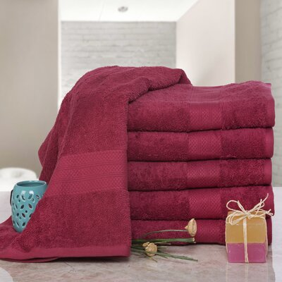 Cressex Absorb Cotton Bath Sheet Color: Biking Red