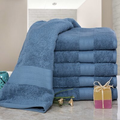 Cressex Absorb Cotton Bath Sheet Color: Denim