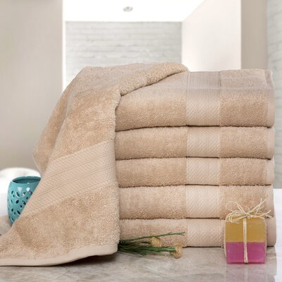 Cressex Absorb Cotton Bath Sheet Color: Beige