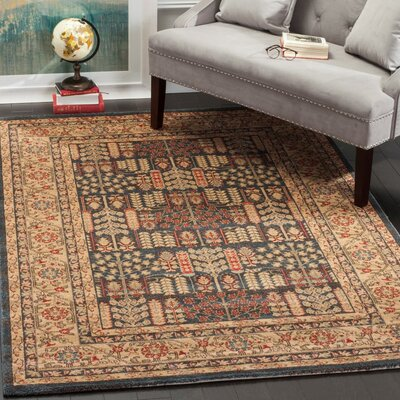 Coleraine Brown Area Rug Rug Size: Rectangle 4 x 57
