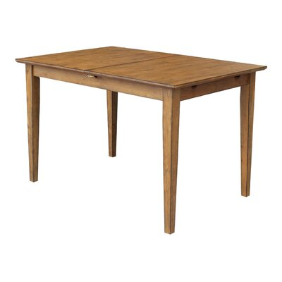 Miles Extendable Dining Table Finish: Pecan