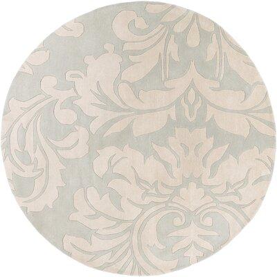 Millwood Light Gray/Slate Area Rug Rug Size: Round 9'9
