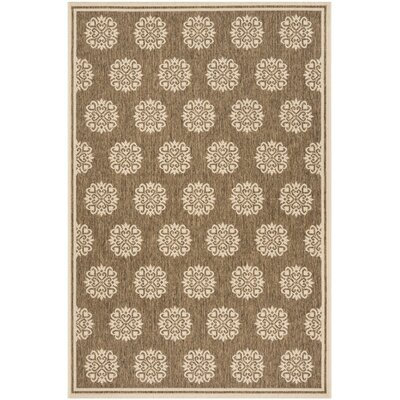 Karpinski Beige/Cream Area Rug Rug Size: Rectangle 8 x 10