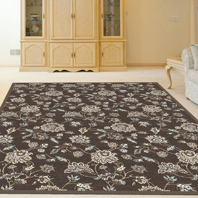 Ackermanville Brown Area Rug Rug Size: Runner 22 x 77