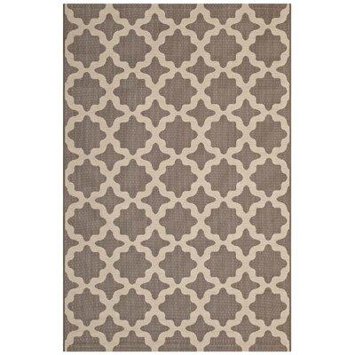 Hervey Bay Moroccan Trellis Beige Indoor/Outdoor Area Rug Rug Size: Rectangle 8 x 10