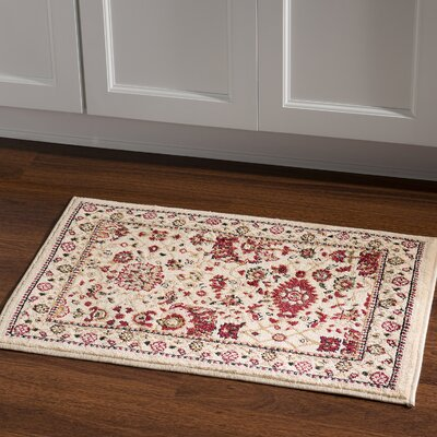 Bloomingdale Ivory Area Rug Rug Size: Rectangle 2 x 3
