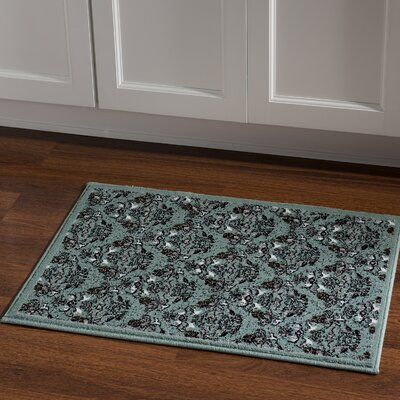 Bloomingdale Blue Area Rug Rug Size: Rectangle 2 x 3