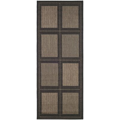 Westlund Cocoa Indoor/Outdoor Area Rug Rug Size: Runner 23 x 119