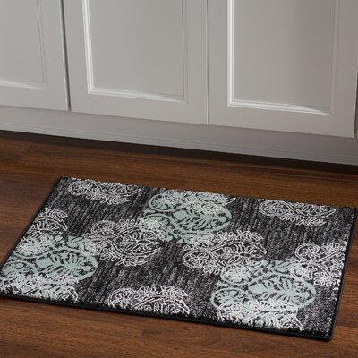 Bloomington Black/Gray Area Rug Rug Size: Rectangle 111 x 21