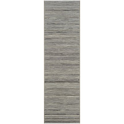 Gillenwater Light Brown/Silver Indoor/Outdoor Area Rug Rug Size: Runner 23 x 119
