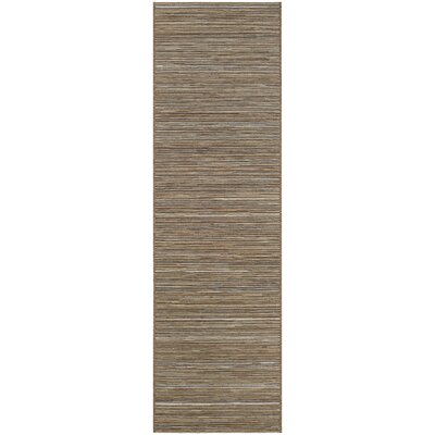 Gillenwater Brown/Ivory Indoor/Outdoor Area Rug Rug Size: Runner 23 x 119