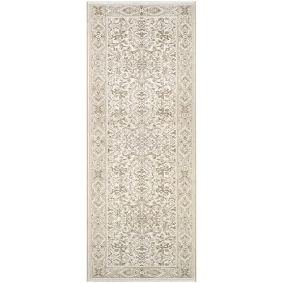 Almira Champagne Area Rug Rug Size: Runner 22 x 71