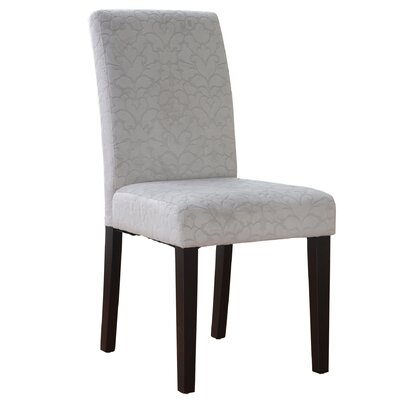 Markland Parsons Chair Upholstery: Beige