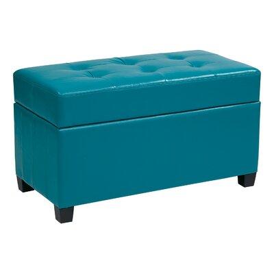 Noma Storage Ottoman Upholstery: Blue