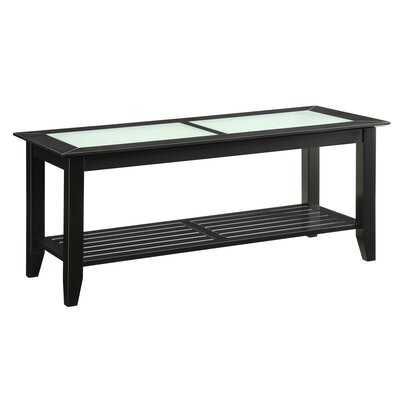 Melrose Coffee Table Table Base Color: Black