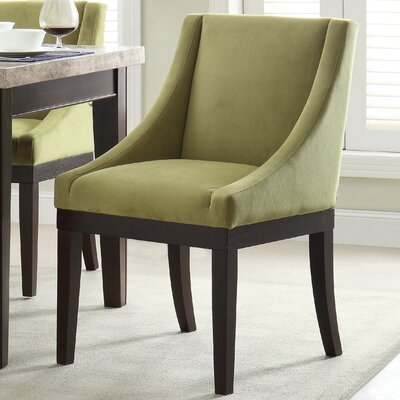 Herkimer Arm Chair Upholstery: Basil