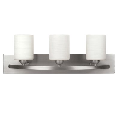 Delmont 3-Light Vanity Light