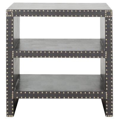 Scott End Table Color: Grey
