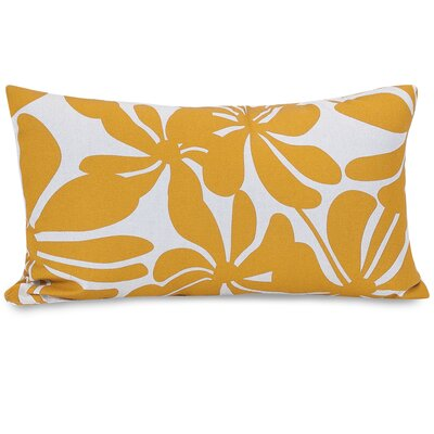 Monterey Lumbar Pillow Color: Yellow