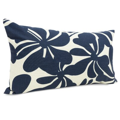 Egerton Lumbar Pillow Color: Navy Blue