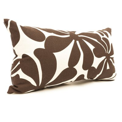 Monterey Lumbar Pillow Color: Chocolate