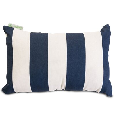 Minden Lumbar Pillow Color: Navy Blue