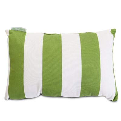 Minden Striped  Lumbar Pillow Color: Sage
