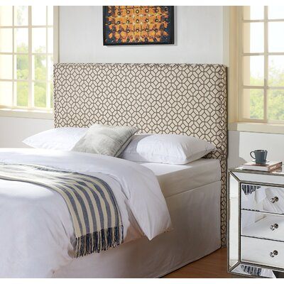 Third Avenue Geometric Upholstered Panel Headboard Size: King / California King