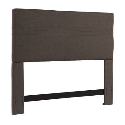 Arant Upholstered Panel Headboard Size: King / California King, Upholstery: Ash Grey