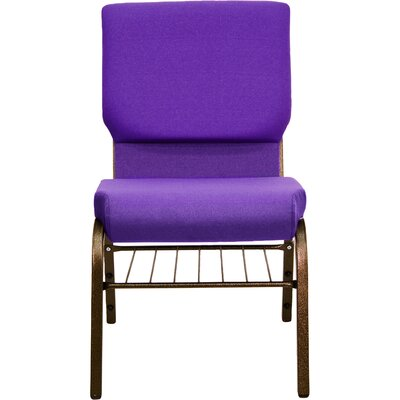 Collier Guest Chair Seat Finish: Purple