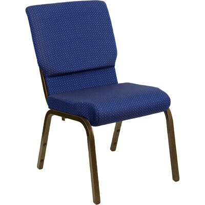 Jackston Guest Chair Seat Finish: Navy Blue Patterned