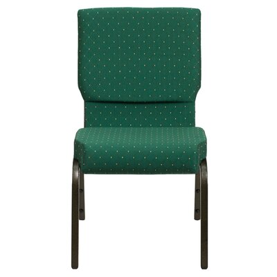 Jackston Guest Chair Seat Finish: Green Patterned