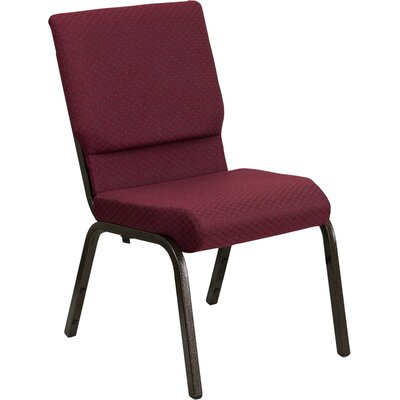 Jackston Guest Chair Seat Finish: Burgundy Patterned