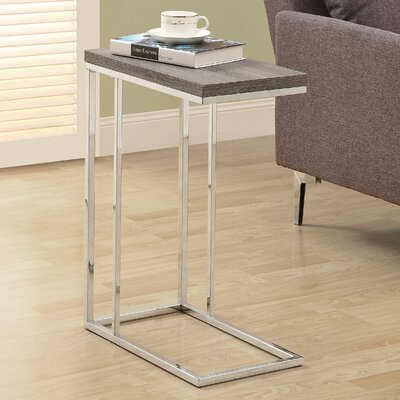 Dustin End Table Color: Dark Taupe