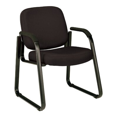 Jude Guest Arm Chair Color: Black