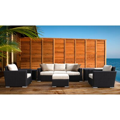 Aramingo 4 Piece Deep Seating Group with Cushion