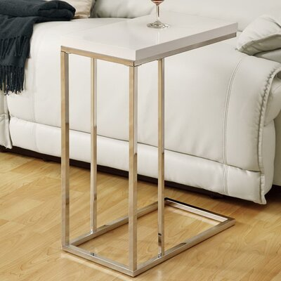 Mclaughlin End Table Finish: White