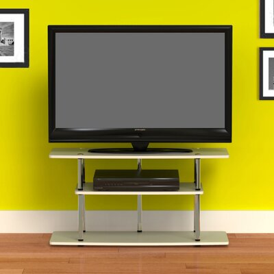 Georgette 42 TV Stand Color: White