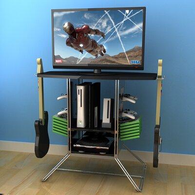 Corley 34 TV Stand Frame: Black