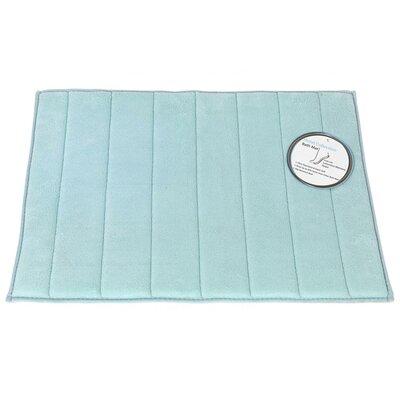 Mcmunn Bath Rug Color: Spa Blue, Size: 1 3 x 2 10