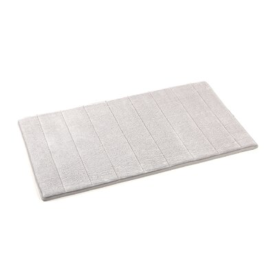 Mcmunn Bath Rug Color: White, Size: 1 5 x 2