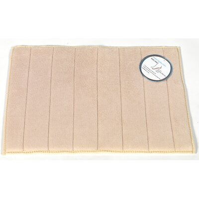 Mcmunn Bath Rug Color: Ivory, Size: 1 5 x 2