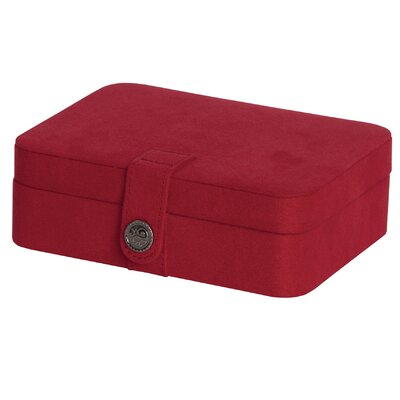 Dawson Jewelry Box Color: Red