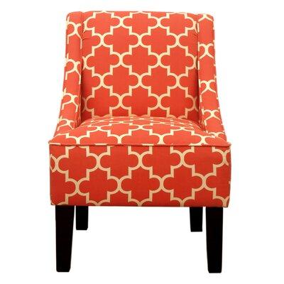 Printed Swoop Arm Chair