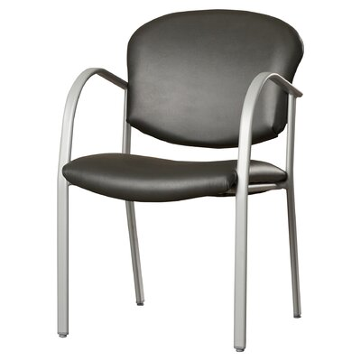 Oleanna Guest Arm Chair Seat Finish: Graphite Fabric