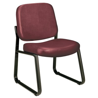 Payakumbuh Armless Guest / Reception Chair Seat Color: Wine