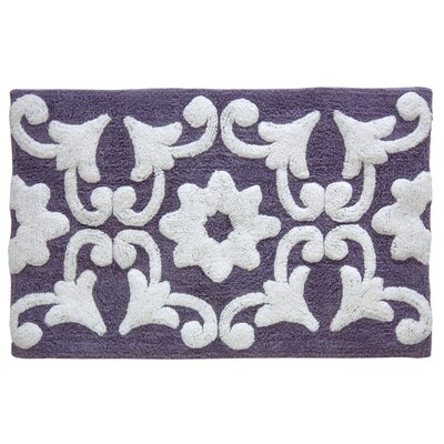 Valencia Bath Mat Color: Dusk Purple