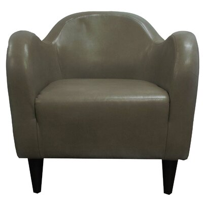 Potts Barrel Chair Color: Taupe