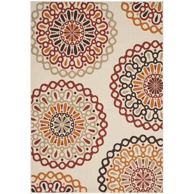 Arrow Indoor/Outdoor Area Rug Rug Size: Rectangle 4 x 57